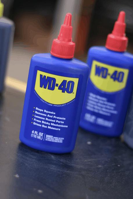 penetrační spreje WD-40